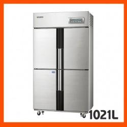 [삼성전자] 업소용냉장고, 간냉식 (냉장실 3개 / 냉동실 1개 / 선반 5개)