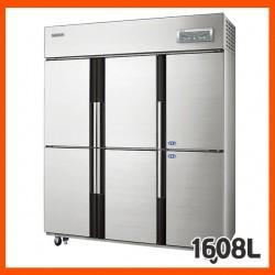 [삼성전자] 업소용냉장고,  주요특징 간냉식 (냉장실 4개 / 냉동실 2개 / 선반 9개
